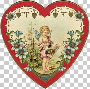 Valentine's Day Paper Heart Love PNG
