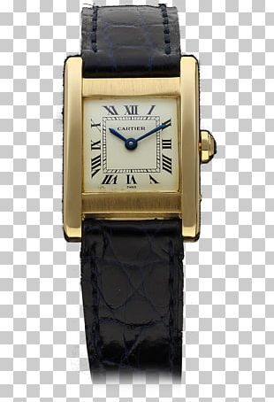 Watch Strap Cartier Tank Pocket Watch PNG