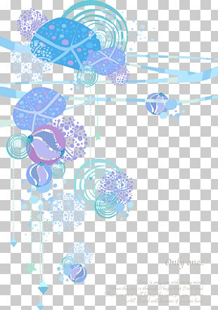 Romantic Pattern Card Background Material PNG