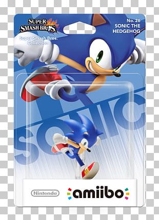 Sonic The Hedgehog Super Smash Bros. For Nintendo 3DS And Wii U Amiibo Tap: Nintendo's Greatest Bits PNG