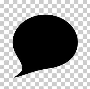 Black Circle Black And White PNG