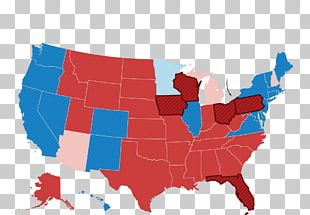 US Presidential Election 2016 United States Of America Red States And Blue States President Of The United States PNG
