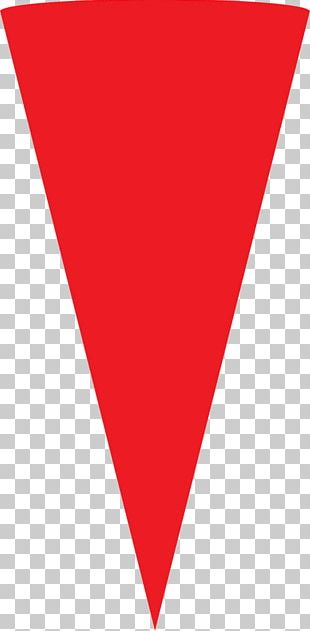 Red Triangle Symbol Logo PNG