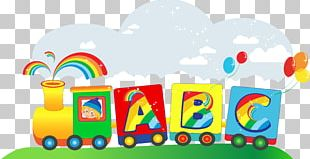 Toy Train Cartoon PNG