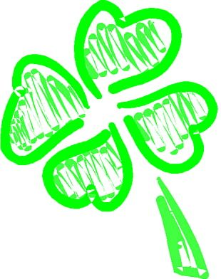 Luck Four-leaf Clover Saint Patricks Day PNG