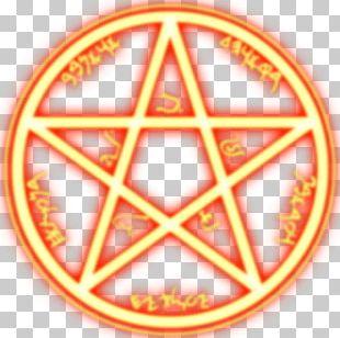 Pentagram Symbol Wicca Pentacle PNG