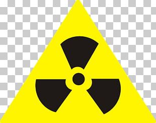 Radioactive Decay Nuclear Power Hazard Symbol Paper Radioactive Waste PNG