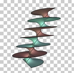 Riemann's Minimal Surface Helicoid Mathematics PNG