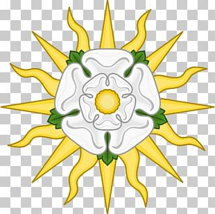 Wars Of The Roses White Rose Of York House Of York Red Rose Of Lancaster PNG