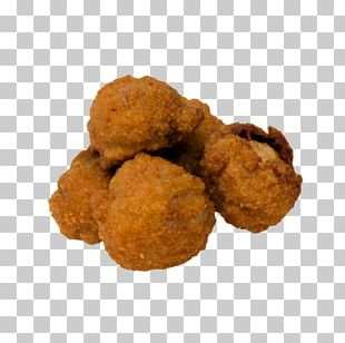 Chicken Nugget Croquette Fast Food Fried Chicken Hushpuppy PNG