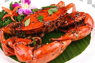 Chilli Crab Singaporean Cuisine Black Pepper Crab PNG