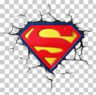 Superman Logo Batman Light DC Comics PNG