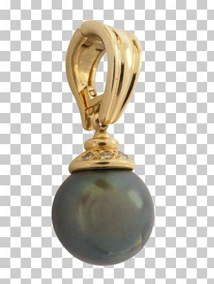 Locket Earring Body Jewellery Pearl PNG
