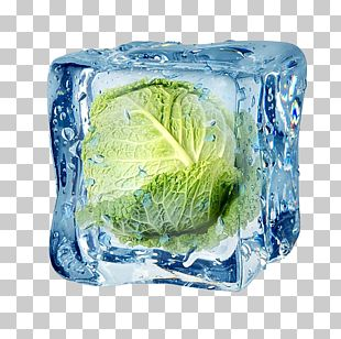 Freezing Frozen Food Ice Cube Vegetable PNG