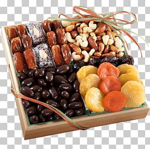 Dried Fruit Food Gift Baskets Chocolate Nut PNG
