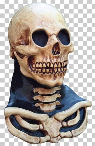 Halloween Costume Mask Skull PNG