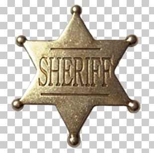 Sheriff Badge United States Marshals Service Texas Ranger Division PNG