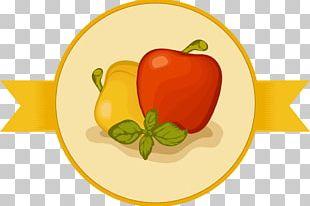 Bell Pepper Apple Food PNG