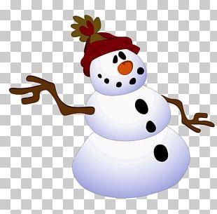 Snowman Illustration PNG