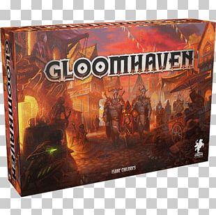 Board Game Gloomhaven BoardGameGeek Set PNG