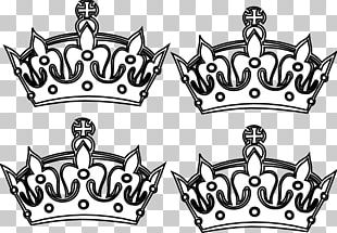 Coloring Book Crown King Prince PNG