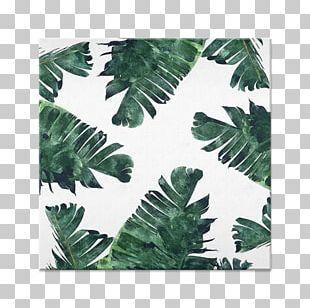 Canvas Print Banana Leaf Watercolor Painting Printing Printmaking PNG