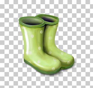 Wellington Boot Cowboy Boot Shoe PNG