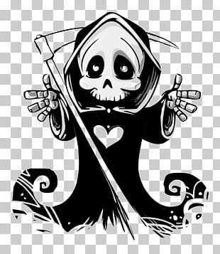 Death Calavera Skull Hug Ghost PNG