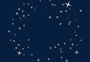 Beautiful Beautifully Decorated Floats Star Starry Background PNG