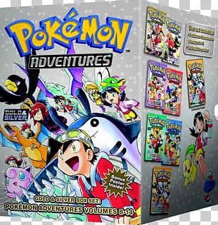 Pokémon Gold And Silver Pokémon FireRed And LeafGreen Pokemon Adventures PNG