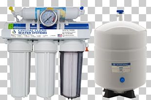 Water Filter Water Purification Reverse Osmosis Water Supply Network PNG