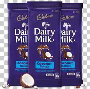 Chocolate Bar Crunchie Milk Cream Cadbury PNG