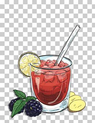 Cocktail Garnish Bramble Gin Cachaça PNG