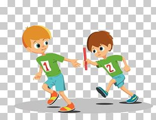 Relay Race Stock Photography PNG