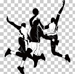 Basketball Player Athlete Sport Silhouette PNG