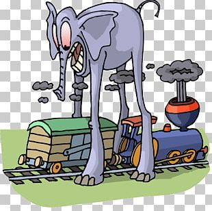 Train Travel Cartoon PNG