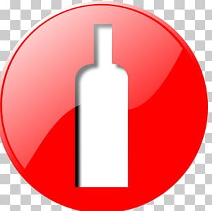 Red Wine Bottle Wine Glass PNG