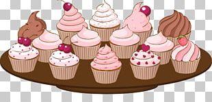 Cupcake Birthday Cake Bakery Muffin Wedding Cake PNG