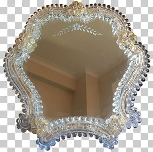Murano Glass Mirror Table Pier Glass PNG