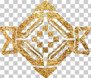 Gold Euclidean Chemical Element PNG