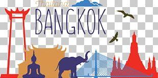 Bangkok Silhouette Euclidean Illustration PNG