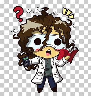 Chibi Drawing Scientist Science Photography PNG