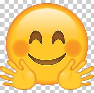 Emoji Hug Emoticon PNG