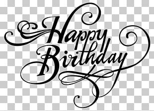 Happy Birthday Greeting & Note Cards Drawing PNG