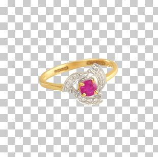 Earring Jewellery Gold Engagement Ring PNG