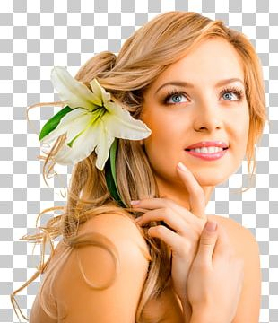 Facial Beauty Parlour Waxing Massage Hair Care PNG