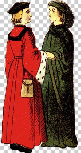 Middle Ages Robe Costume Design Human Behavior PNG