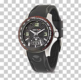 Watch Sector No Limits Strap Buckle Quartz Clock PNG