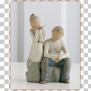 Willow Tree Sibling Sister Figurine Brother PNG