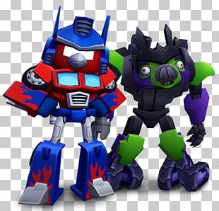 Angry Birds Transformers Optimus Prime Bumblebee Megatron Angry Birds Go! PNG